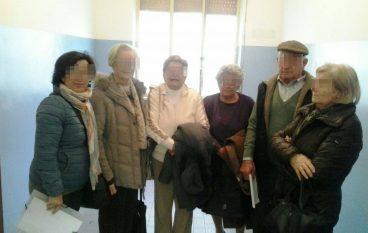 Ospedale di Melito, sala d'attesa di Radiologia senza sedie
