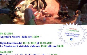 Bovalino Superiore, al via l'evento Presepi in Mostra 2016