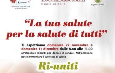 Reggio Calabria, continua la campagna di raccolta del sangue