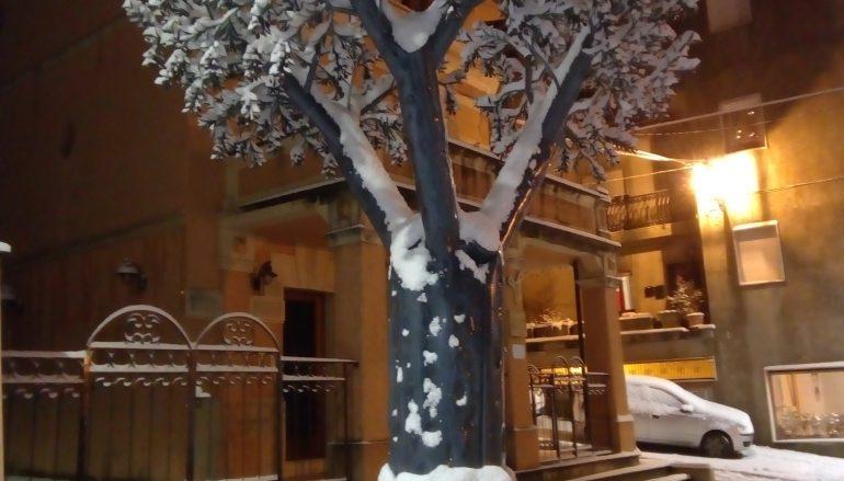 Soveria Mannelli sotto la neve: le foto