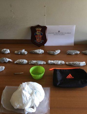 Caulonia, arrestato minore per detenzione ai fini di spaccio di droga