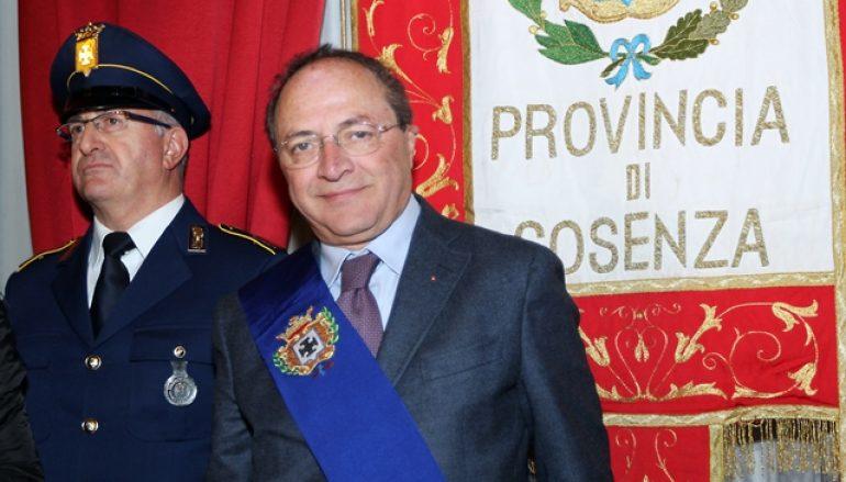 Provincia di Cosenza: Francesco Iacucci è il nuovo Presidente