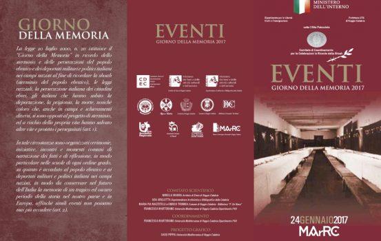 Giornata della Memoria: eventi celebrati al Museo di Reggio Calabria