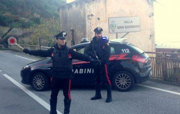 Controlli dei Carabinieri a Villa San Giovanni, 2 arresti