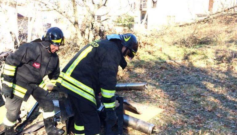 Carlopoli, esplode termostufa: intervento dei Vigili del Fuoco