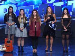 Successo per la cantante reggina Giusy Battaglia al talent di La5
