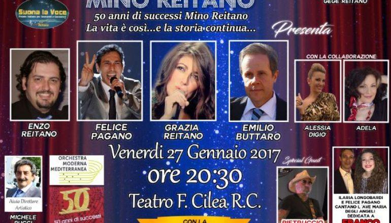Reggio Calabria, al via ottava edizione del Memorial Mino Reitano