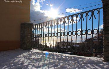 Bova, le foto del borgo innevato