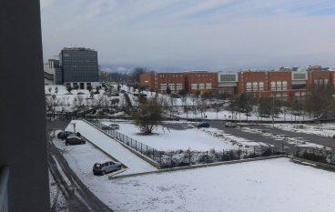 Nevica ad Arcavacata di Rende, le foto