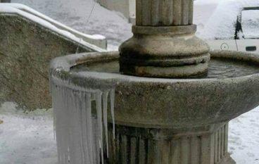 Le foto della nevicata a San Lorenzo