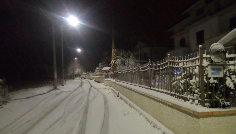 Le foto della neve a Soveria Mannelli