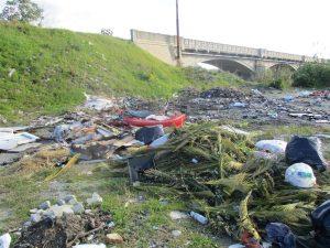 rifiuti ponte