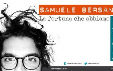 Cosenza, Samuele Bersani in concerto