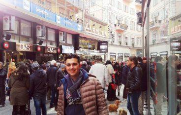 Il giovane cantante reggino Nicholas Mauro al Palafiori di Sanremo
