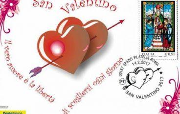 Iniziativa delle Poste Italiane per S. Valentino