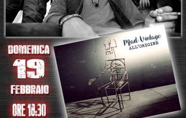 "Siderno, Mad Vintage presentano primo album ""All'origine"""