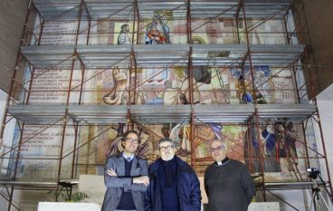 """Reggio, inaugurazione dell'abside della Chiesa del Soccorso con """"Le Muse"""""""