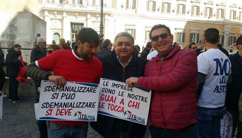 Bolkestein, anche i Balneatori Calabresi in protesta a Roma