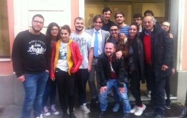 Reggio, Falcomatà ha incontrato gli studenti dell'Accademia di Belle Arti