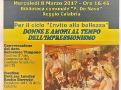 """Reggio, il CIS promuove """"Donne e amori al tempo dell'Impressionismo"""""""
