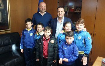 """Concorso """"Giovani Calciatori"""", premiati i vincitori alla Regione"""