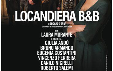 """Teatro Auditorium Unical, Laura Morante in """"Locandiera B&B"""""""