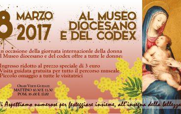 Rossano (CS), 8 Marzo al Museo Diocesano e del Codex
