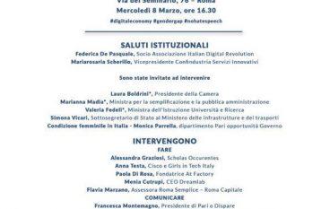 Menia Cutrupi scelta come Digital Women Calabria in Parlamento