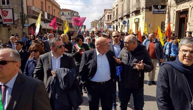 """Giornata vittime mafia, Oliverio: """"A Locri è giunta la Calabria onesta"""""""
