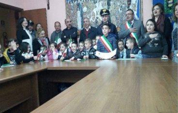 Platì, elezione sindaco ragazzi organizzato dall'I.C. De Amicis