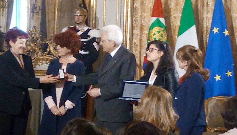 """Concorso """"Donne per la Pace"""", Mattarella premia una Scuola spezzanese"""