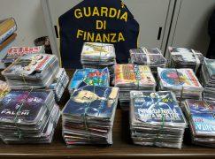 Cosenza, Fiera San Giuseppe: sequestrati migliaia di capi contraffatti