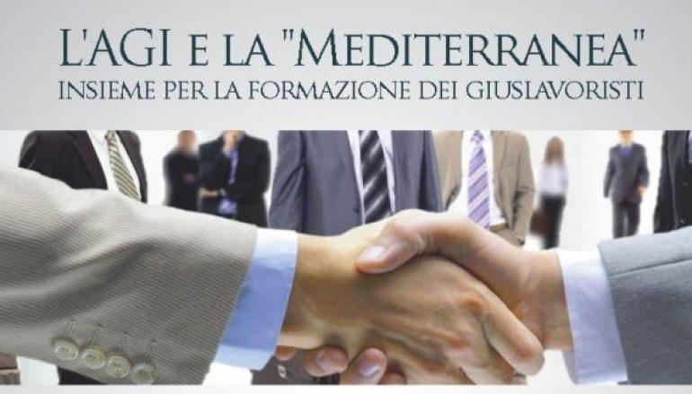 Reggio, firma convenzione AGI e Università Mediterranea