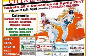 Corigliano Calabro, al via primo Trofeo interregionale di Taekwondo