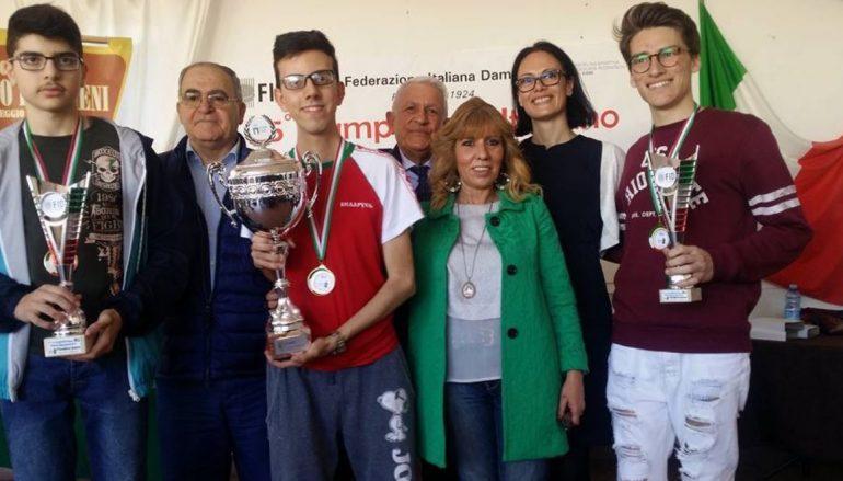 Campionato Italiano Dama Internazionale: due reggini campioni nazionali