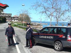 Controlli dei carabinieri: denunciato giovane di Melito di Porto Salvo