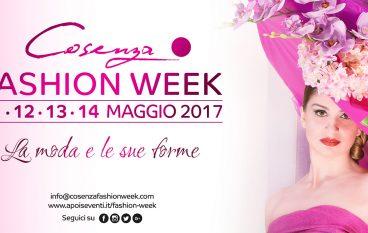 """La moda e le sue forme protagoniste al """"Cosenza Fashion Week"""""""