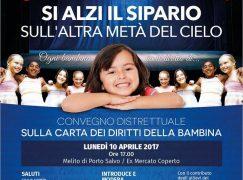 """A Melito Porto Salvo convegno sulla """"Carta dei Diritti della Bambina"""""""