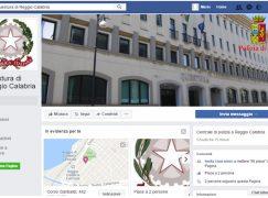 Polizia, è attivo il contatto Facebook della Questura di Reggio Calabria