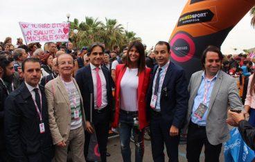 Giovanni Nucera su sesta tappa del Giro d'Italia