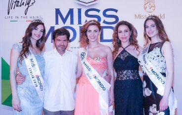 Miss Mondo, fascia e corona ad Alessia Tripodi per la Calabria