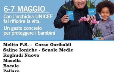 """L'Orchidea dell'UNICEF  """"per ogni bambino sperduto"""""""
