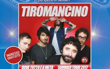 Centro Commerciale Due Mari: il 17 giugno il concerto dei Tiromancino