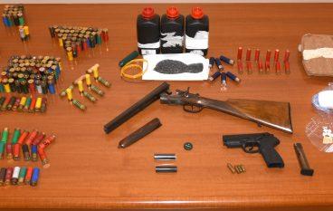 Arghillà: ritrovate armi, munizioni e droga
