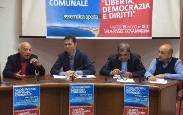 Scioglimento consiglio comunale Bova Marina: nasce un comitato civico
