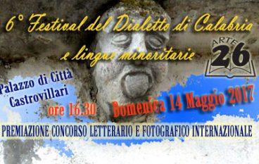 Castrovillari, VI edizione del Festival del Dialetto Calabrese