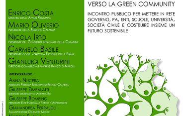 """""""Verso la green community"""": il ministro Costa a Reggio Calabria"""
