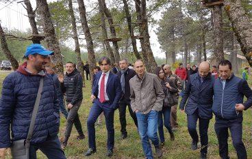 Reggio Calabria, consegnata la struttura del Parco Avventura di Forge