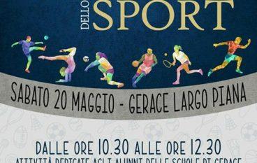 """Gerace (RC) ospita la """"Giornata Nazionale dello Sport"""""""
