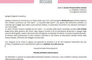 vittoria Biciscuola